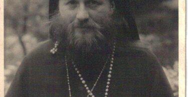 Archbishop Leontii of Chile. Germany, 1946
