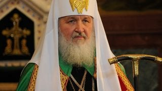 Many Years to the First Bishop of the Russian Orthodox Church!