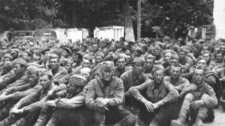 Первый год в немецком плену