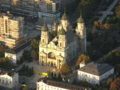 Metropolitan Cathedral of Iasi where Met. Visarion attended Seminary