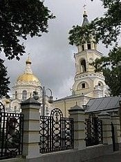 Andreevskii Cathedral in Stavropol where Bp Mikhali was consecrated to the Episcopate in by Archbp Agafodor