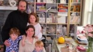 Fund for Assistance to the Russian Church Abroad Features the Editor of this Web Site and His Family in its Annual 2013 Report