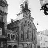 Храм Св. Александра Невского (1883) на ул. Бредгэде 53. В оформлении виден тот же имперский размах, что в Александровском подворье в Иерусалиме и Троицком соборе в Буэнос-Айресеi. Фото Еп. Агапита