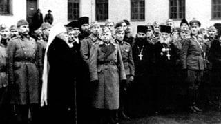 Посещение Русского Корпуса, Первоиерархом РПЦЗ, Митрполитом Анастасием. 1941 г.