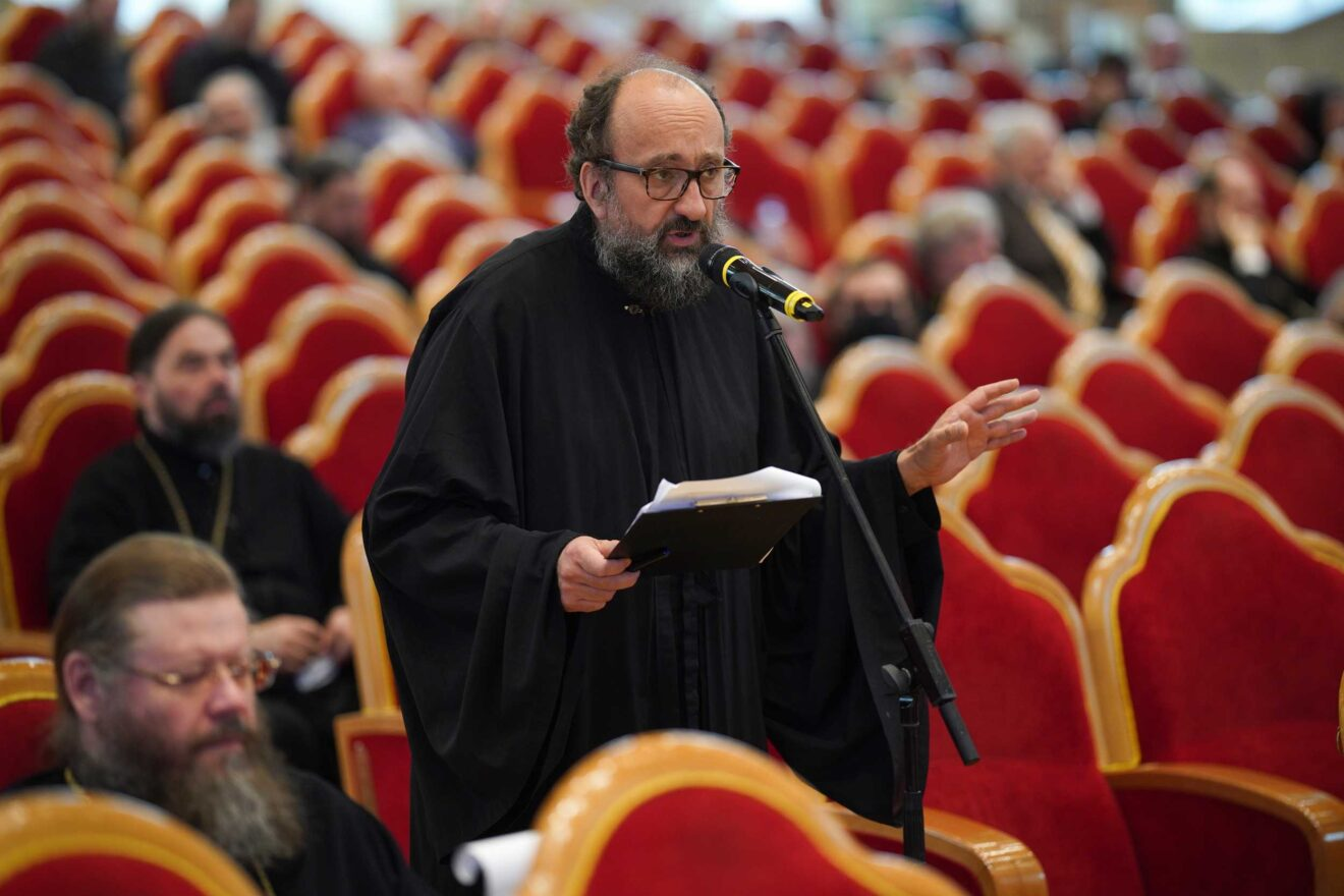 A professor of Holy Trinity Seminary takes part in the Inter-Council Presence of the Russian Orthodox Church